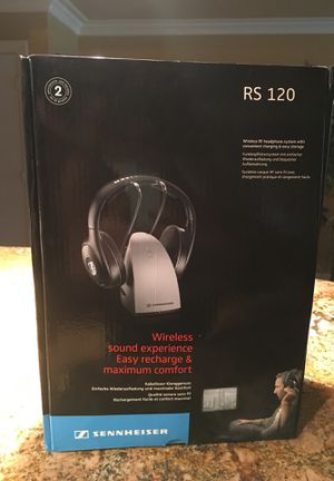 SENNHEISER Wireless RS120 Headphones for Sale in MARTINS ADD, MD