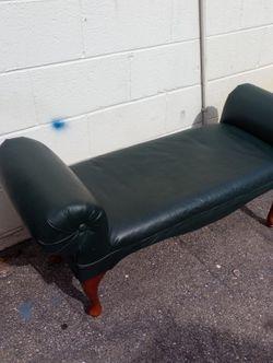 Nice Dark Green Bench for Sale in Arlington,  VA