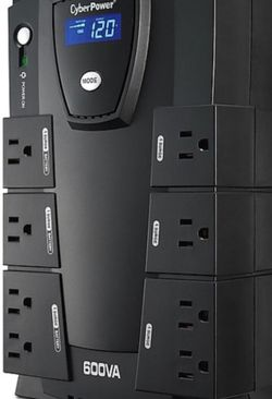 Cyberpower Intelligent LCD Standby UPS, Black (CP600LCD) for Sale in Chula Vista,  CA