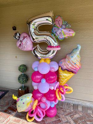 Balloon Arrangement for Sale in Riverside, CA
