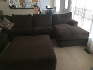 Sectional couch for Sale in Charlottesville, VA