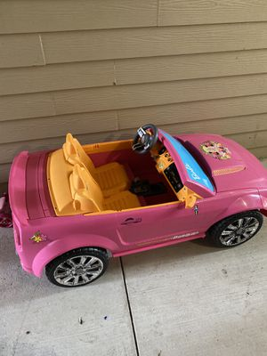 Barbie 2 seat ford mustang car for Sale in Sugar Land, TX