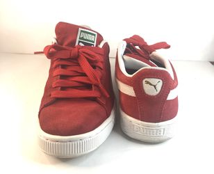 Puma Suede Classic Casual Shoes Sneakers Red Size 7.5 Men for Sale in Lawrenceville,  GA