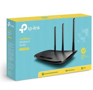 TP-Link N450 WiFi Router - Wireless Internet Router for Home (TL-WR940N) for Sale in Dallas, TX