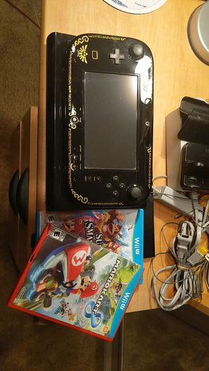 Nintendo Wii U The Legend of Zelda: The Wind Waker HD Edition w/ Mario Kart 8 & Super Smash Bros. for Sale in Norfolk, VA