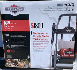 Briggs and Stratton electric pressure washer for Sale in Antioch, CA