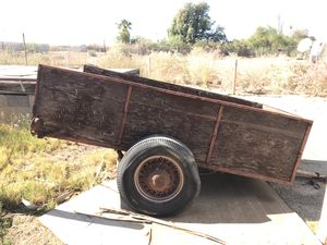 Wide wood trailer ford wheels for Sale in El Centro, CA