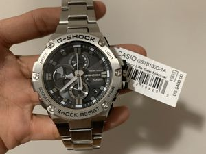 G-SHOCK Bluetooth All Metal GSTB100 Watch NEW for Sale in Chicago, IL