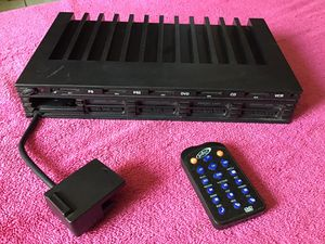 INTEC PlayStation 2 PS2 4 Multi-Tap AV Selector Adapter With DVD Remote Control for Sale in San Bernardino, CA