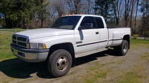 1998 Dodge Cummins 24 valve dually 4x4 for Sale in Olympia, WA