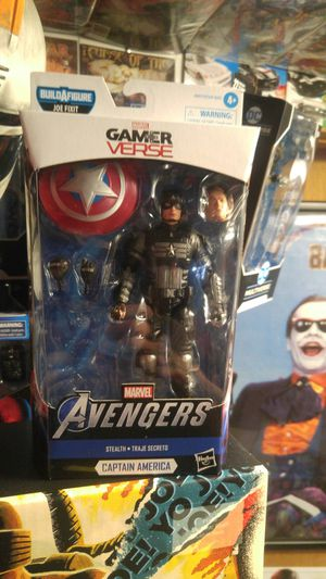 Marvel gamerverse Captain America. NO BUILD A FIGURE PIECE!!!!!!! for Sale in Lockport, IL