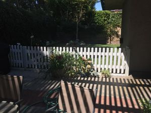 Fence White Picket Fence Wooden 10 ft x 3 ft for Sale in Laguna Hills, CA