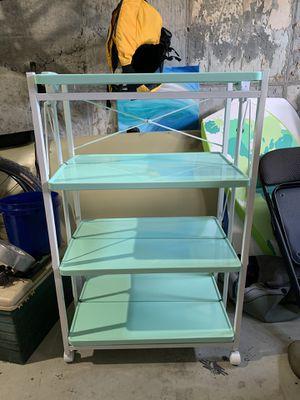 Foldable shelves bookcase for Sale in Farmingdale, NJ