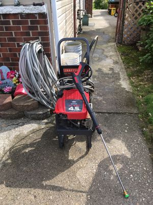 Craftsman power washer for Sale in Columbus, OH
