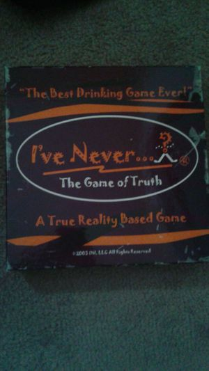 I've Never Board Game for Sale in Charlotte, NC