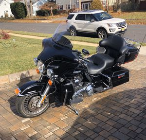 2011 Black and Chrome Harley Davidson Electra Glide UltraLimited for Sale in Brick Township, NJ