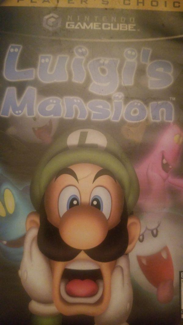 Luigi's Mansion and mario golf