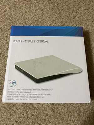 Brand new usb external mobile CD player for Sale in Northville, MI