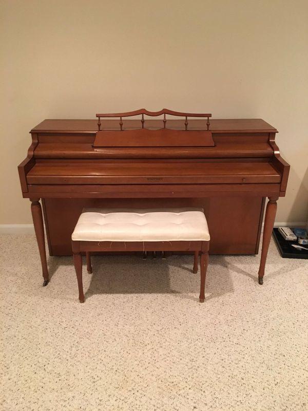 FREE- Whitney Piano