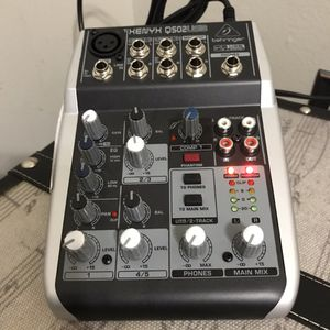 Portable DAC and 5 input- 1 out mixer for Sale in Tigard, OR