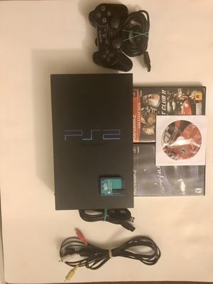 Sony PlayStation 2 PS2 fat console for Sale in Davis, CA