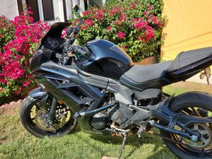 Motorcycle Kawasaki EX650 ABS Ninja great MILES for Sale in Riverside, CA
