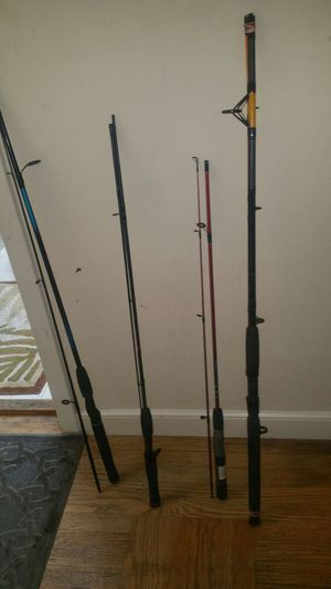 PICK UP IN SF ONLY! 4 Fishing Poles for Sale in San Francisco, CA