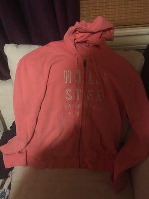 Peach pink Hollister hoodie for Sale in Beaverton, OR