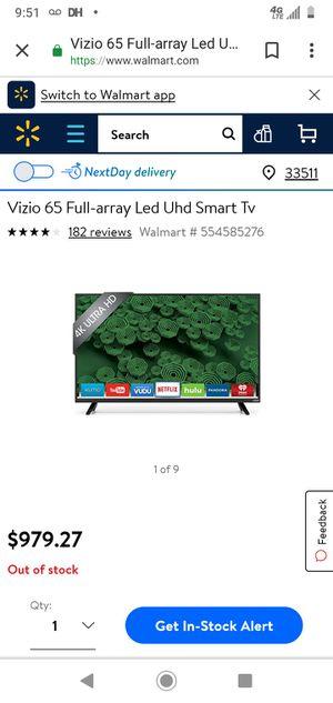VIZIO D-series Ultra HD Full-Array LED Smart TV for Sale in Lexington, KY