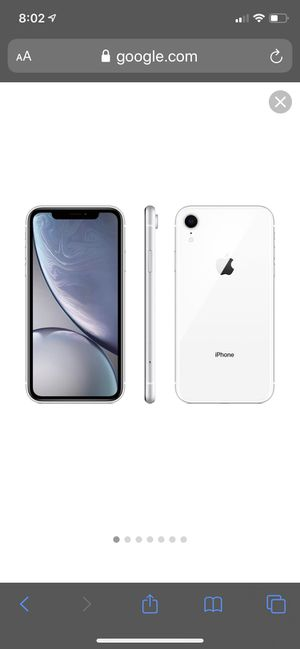 White iPhone XR for Sale in Puyallup, WA