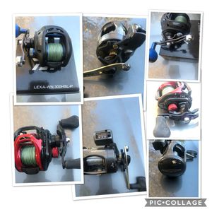 Top Quality fishing reels. for Sale in Tracy, CA