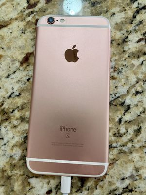 UNLOCKED iPhone 6s rose gold 128GB new battery!! for Sale in Virginia Beach, VA