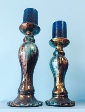 2 Candle Holders with Candles for Sale in Oxon Hill, MD