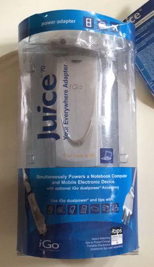iGo JUICE 70 POWER ADAPTER for Sale in San Diego, CA