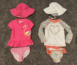 Toddler Girl Bathing Suits for Sale in Highland, CA
