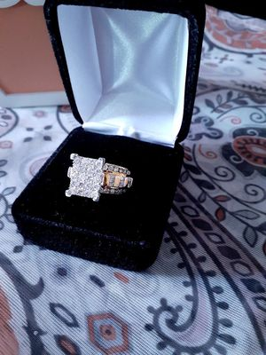 Diamond Wedding Ring 10k for Sale in Enfield, CT