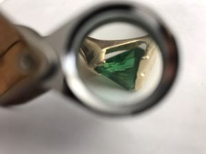 Gold and emerald not free make me an offer for Sale in Gilroy, CA