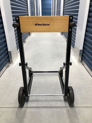 West marine outboard motor cart 80lb for Sale in Newbury, MA