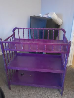 Purple changing table for Sale in West Seneca, NY