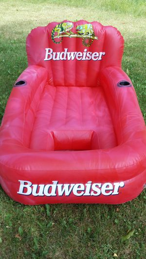 Budweiser Floating Lounge Chair for Sale in Higgins Lake, MI
