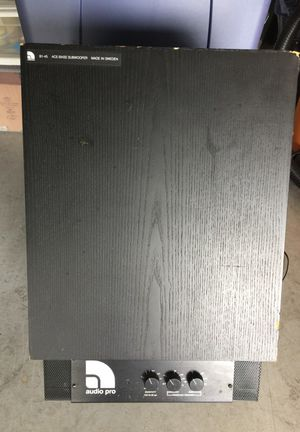 AUDIO PRO B1-45 VINTAGE SUBWOOFER for Sale in Cape Coral, FL