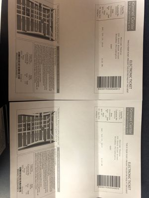 2 Tickets to see RENT play on Saturday first come first serve whiling to Negotiate for Sale in Philadelphia, PA