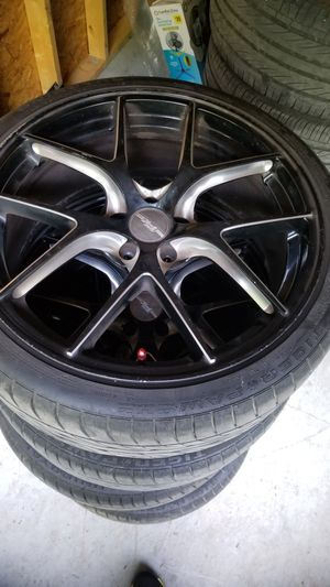 20 inch rims and tires combo-FK ETHOS RT-57 FULL SET for Sale in Meherrin, VA