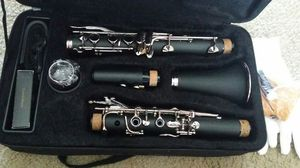 Band Clarinet Black Bb with Case for Sale in Milwaukie, OR