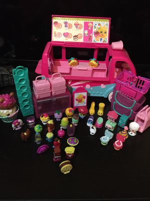 Shopkins Van and Toys for Sale in Tampa, FL