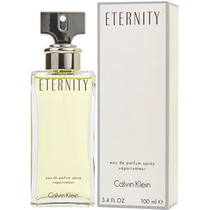 Eternity by Calvin Klein 3.4 edp (w) and (m) for Sale in Colton, CA
