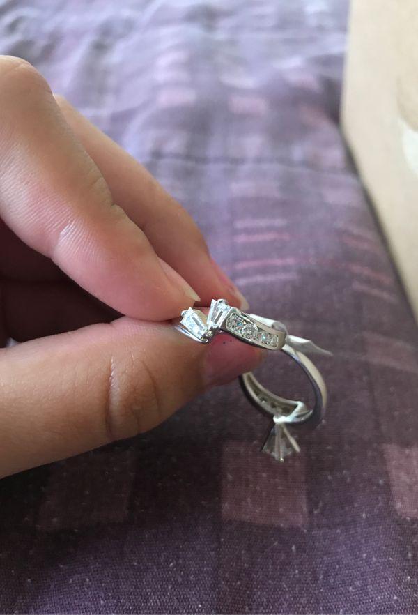 2 silver rings 925