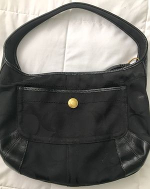 Black and gold Coach purse for Sale in Columbia, SC