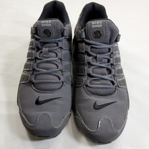 Nike Shox NZ Running Shoes Men's 9.5 M 378341-059 Dark Grey for Sale in Willowbrook, IL