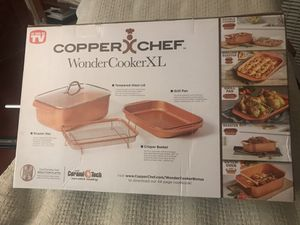 Copper chef wonder cooler XL 4 pc set 12.5 qt New sealed for Sale in Redondo Beach, CA
